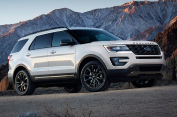 Ford Explorer XLT Sport Appearance Package