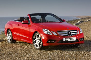 Mercedes-Benz E-Class Cabriolet UK Version