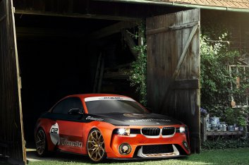 BMW 2002 Hommage Pebble Beach Concept