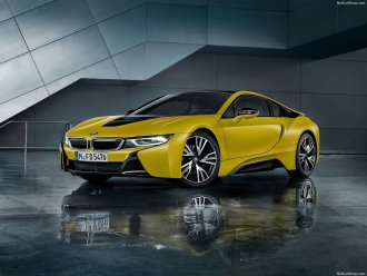 Фотографии BMW i8 Protonic Frozen Yellow 2018